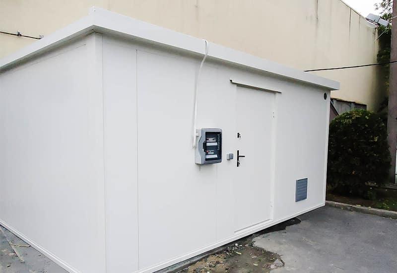 Kontener do składowania aktywnego i pasywnego 30m²
