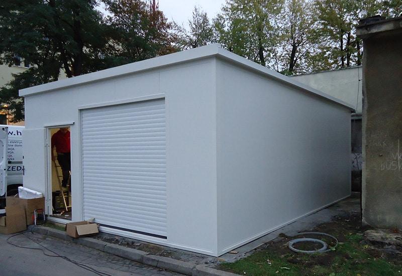 Kontener magazynowy / magazyn techniczny 45m²