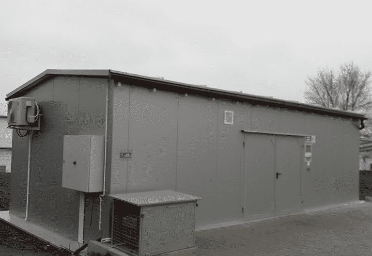 Specjalistyczny kontener do składowania lakierów